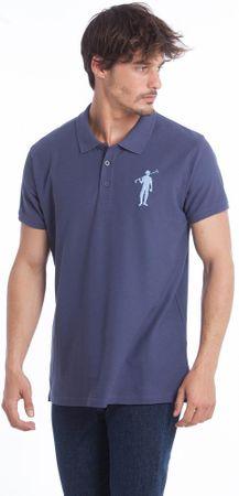 Polo Club C.H..A moška polo majica, M, modra
