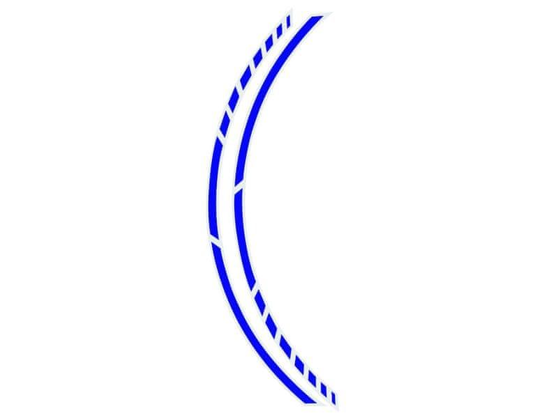 Foliatec Samolepící linka na obvod kola RACING - modrá