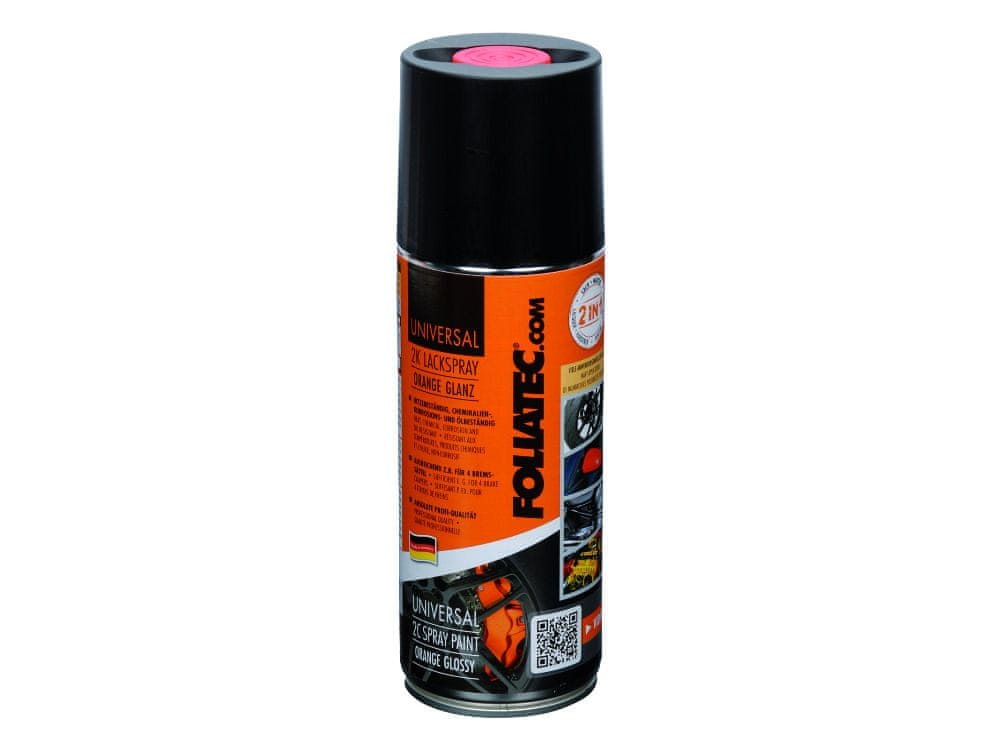 FOLIATEC dvousložková barva na brzdy ve spreji černá 200 g