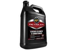 Meguiar's Leather Cleaner & Conditioner 3,78 l - profesionální čistič a kondicionér na kůži
