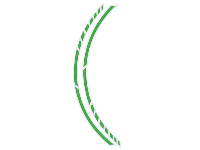 Foliatec Samolepící linka na obvod kola RACING - zelená