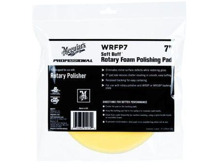 """Meguiar's Soft Buff Rotary Foam Polishing Disc 7"""" - lešticí kotouč pro rotační leštičku (střední), 7palcový"""