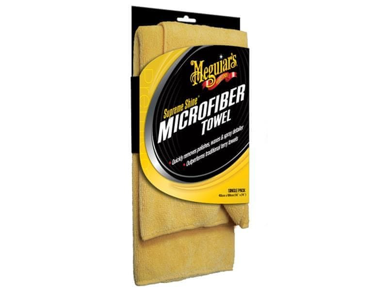 Meguiar's Supreme Shine Microfiber Towel - mikrovláknová utěrka, 40 cm x 60 cm