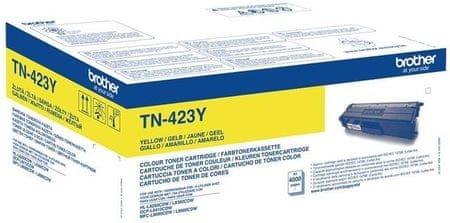 Brother Toner TN423Y, yellow, 4.000 strani