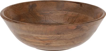Koopman posoda iz mangovega lesa, 30 cm