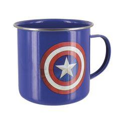 Hrnek Captain America plechový 500 ml
