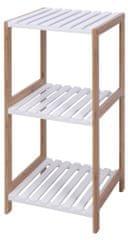 Marex Trade regał łazienkowy, 3 półki, MDF/bambus