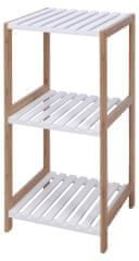 Koopman Koupelnový regál 3p., MDF/bambus