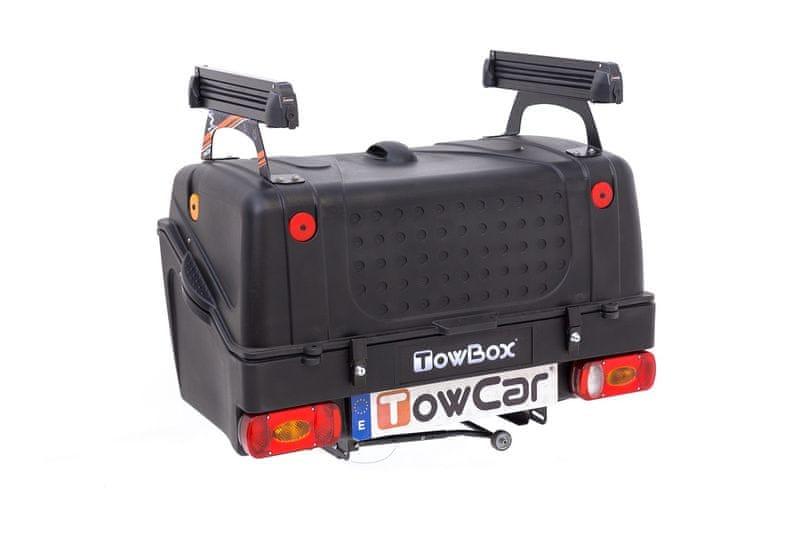 TowBox Rozšíření o nosič lyží (4 páry) na TowBox V1