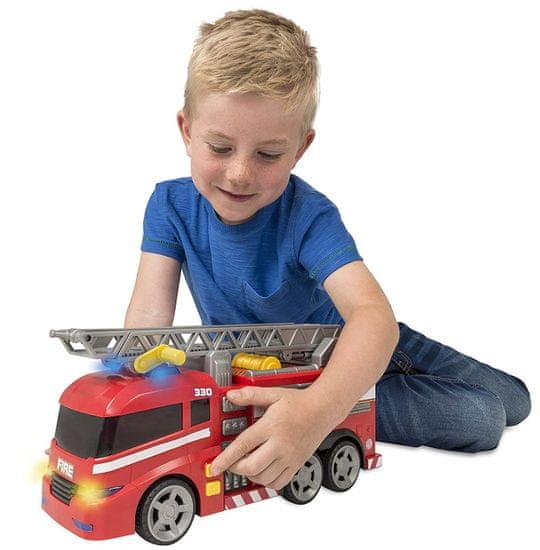Alltoys wóz strażacki Teamsterz z efektami dźwiękowymi i świetlnymi