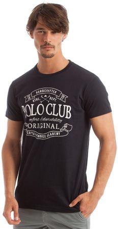 Polo Club C.H.A moška majica s kratkimi rokavi, M, temno modra