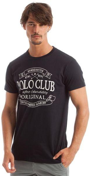 8ffde073ff0 Polo Club C.H.A pánské tričko XXL tmavě modrá