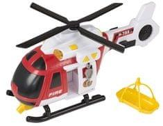 Teamsterz Hasičská helikoptéra se zvukem a světlem