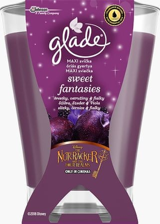 Glade świeca zapachowa Maxi Sweet Fantasies, 224 g