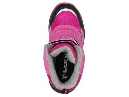 f2fe472cc4a Loap Dívčí zimní boty Chosee 22 růžová