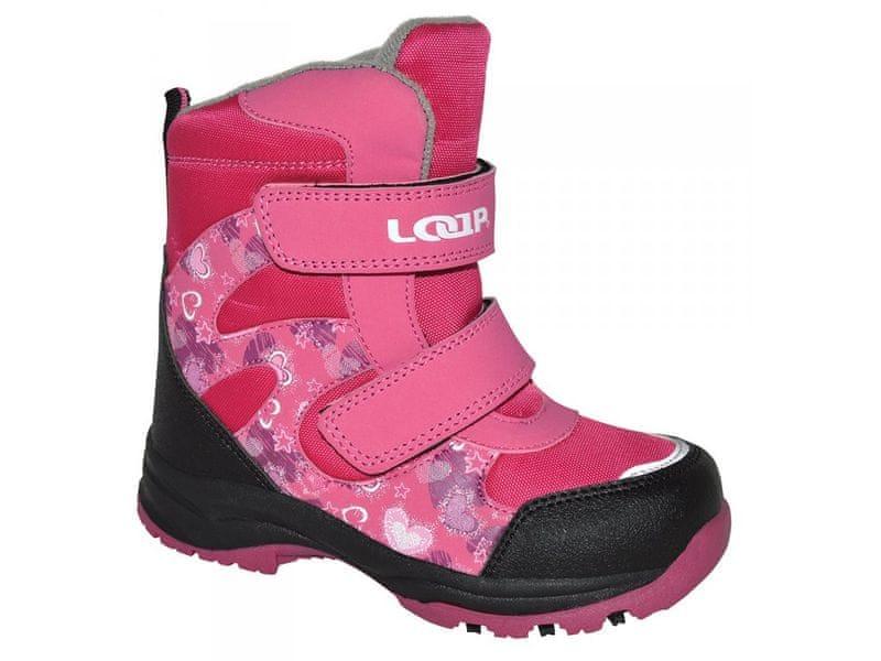 Loap Dívčí zimní boty Chosee 24 růžová 21bbd01bb96