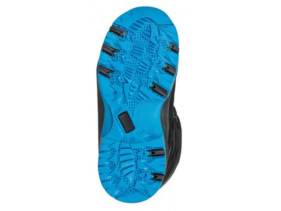 Loap fantovska zimska obutev Chosee, črno-modra