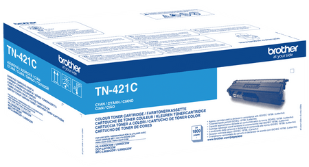 Brother Toner TN421C, cyan, 1.800 strani