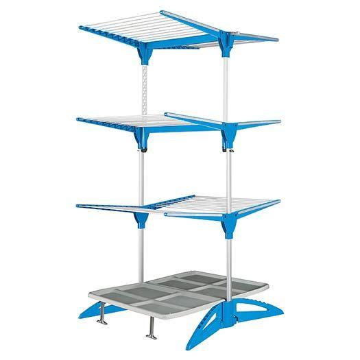 Meliconi Vertikální sušák na prádlo STENDIMEGLIO 60 MAXI modrý
