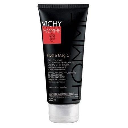 Vichy Testhidratáló Homme Hydra Mag C 200 ml