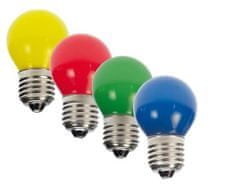 Philips LED colored P45 párty set E27