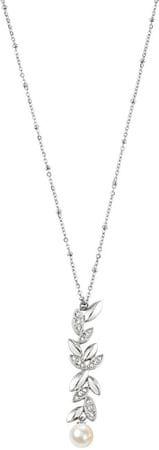 Morellato Gioia nemesacél nyaklánc igazgyöngy díszítésű medállal SAER19