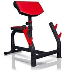 Marbo sport Bench curl fitnes klop s sedežem, najnovejši model