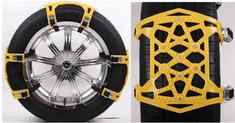 Tark univerzalna kovinska - PVC snežna veriga proti drsenju TT006, 6 kosov