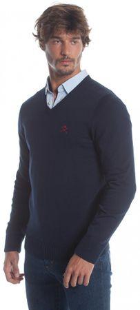 Polo Club C.H.A muški pulover, M, tamno plavi