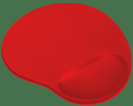 Trust podloga za miško Bigfoot z gelom, rdeča