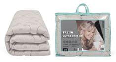 My Best Home Prošívaná celoroční přikrývka FALUN ULTRA SOFT 3D stříbrná 200 x 220 cm