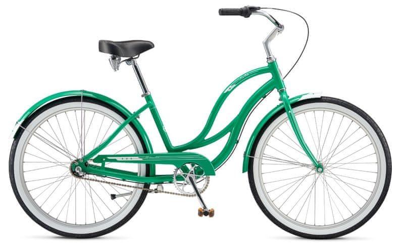 Schwinn® Fiesta 2017 kelly green cruiser, vel. Uni