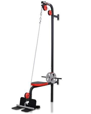 Marbo sport fitnes naprava zgornji in spodnji škripec s sedežem