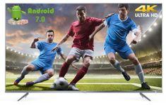 TCL 4K Ultra HD TV sprejemnik 65DP660, Android 7.0