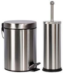 TimeLife Odpadkový koš 3 l & WC štětka