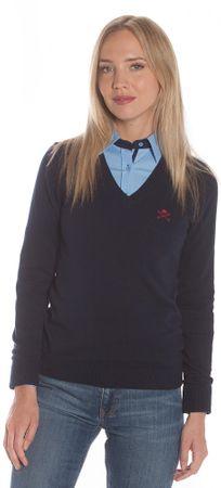 Polo Club C.H..A ženski pulover, temno moder, S