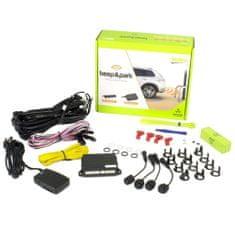 Valeo Parkovací asistent 632200 Beep&Park, přední nebo zadní, 4 senzory, zvukový signál, kompatibilní s tažným zařízením, 9-16 V
