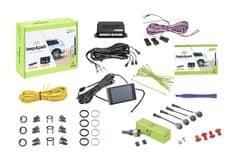 Valeo Parkovací asistent 632201 Beep&Park, přední nebo zadní, barevný LCD displej, 4 senzory, zvukový signál, kompatibilní s tažným zařízením, 9-16 V