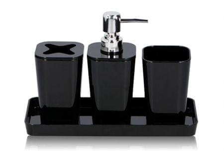 TimeLife Műanyag fürdőszoba kiegészítő szett