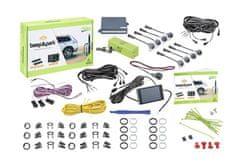 Valeo Parkovací asistent 632202 Beep&Park, přední a zadní, barevný LCD displej, 8 senzorů, zvukový signál, kompatibilní s tažným zařízením, 9-16 V