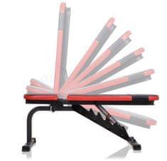 Marbo sport vadbena klop s 7 nakloni, do 250 kg teže