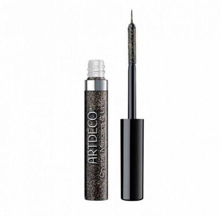 Art Deco Błyszczący eyeliner a tusz do rzęs 2v1 (Crystal Mascara & Liner) 5 ml GRUDZIE (cień 1 Onyx Glitter)