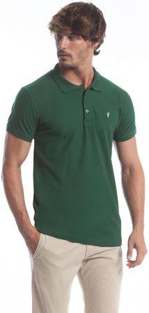 Polo Club C.H..A moška polo majica, M, zelena