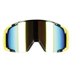 Motocyklové crossové brýle S-line Scrub MX žlutá-fluo-černá