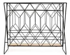 Sifcon Dřevěný stojan na časopisy 39x32 cm