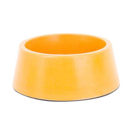 Akinu ECO bambus miska pro psy oranžová 1,5L