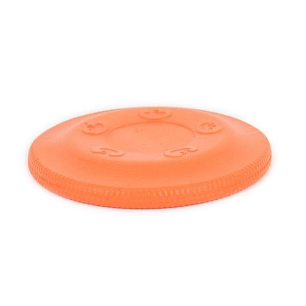 Akinu AQUA pěnové frisbee velké pro psy oranžové