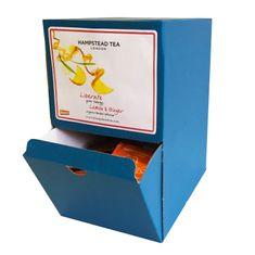Hampstead Tea London BIO citrónový čaj se zázvorem 250ks