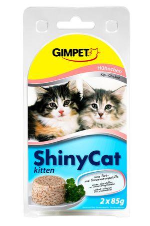 Shiny Cat Junior konzerva kuřecí 2x70g