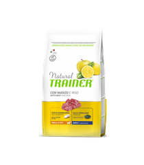TRAINER Natural Small&Toy Adult Hovězí a rýže 2kg